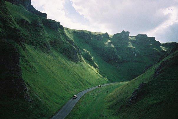 Дорога в горах, Англия (604x405, 35Kb)