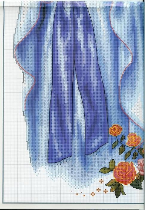Богородица.Схемы вышивки.2
