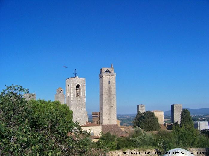 100_5013 Torre Grossa и др. Вид из крепости Рокка (Rocca)  (700x523, 201Kb)