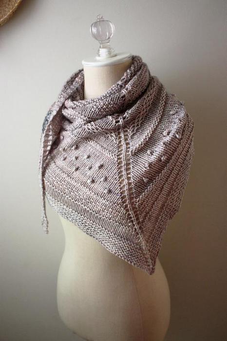 Женские платки вязанные