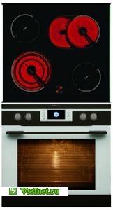 Духовой шкаф+варочная поверхность электрическая Hansa BCCW69369055 (162x300, 12Kb)