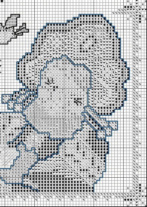 Схема снегурочки вышивка