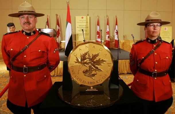 самая тяжелая монета в мире (610x399, 64Kb)