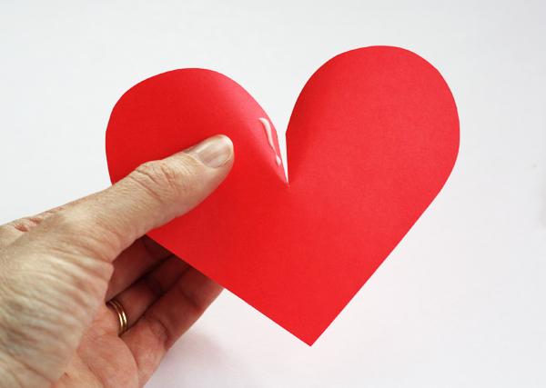 Сердце объёмное своими руками