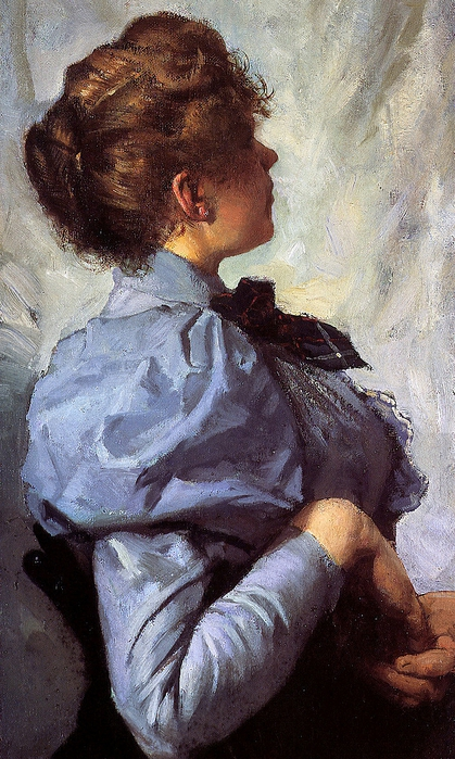 Witkamp E Jr A Young woman (419x700, 293Kb)