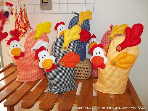 Петух для кухни своими руками