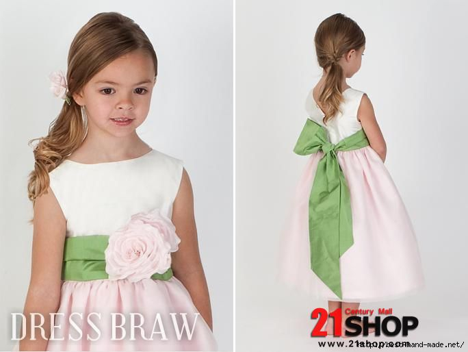 Cute-Ball-Gown-Bateau-Tea-length-Flower---Sash-Flower-Girl-Dresses-model-72708433-1 (684x514, 87Kb)