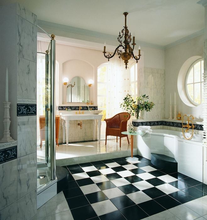 Стильная ванная фото 15