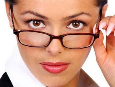 Макияж и очки (400x301, 53Kb)