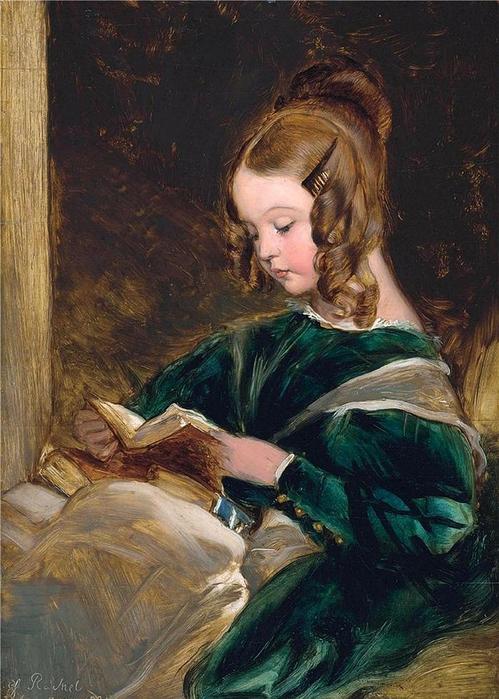 Sir Edwin Henry Landseer,Portrait of Rachel Russell,1835  (499x700, 295Kb)