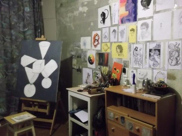 Комната художника своими руками