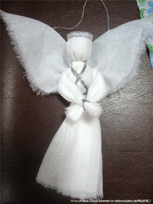 Поделка рождественский ангел своими руками мастер класс