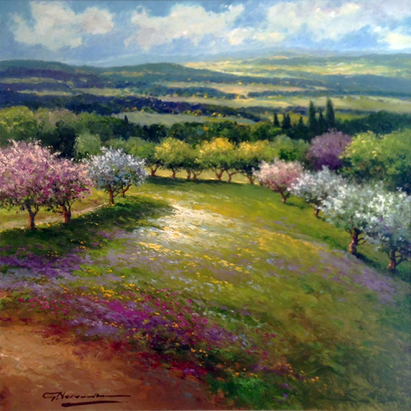 gerhard-nesvadba-spring-trees (576x576, 330Kb)