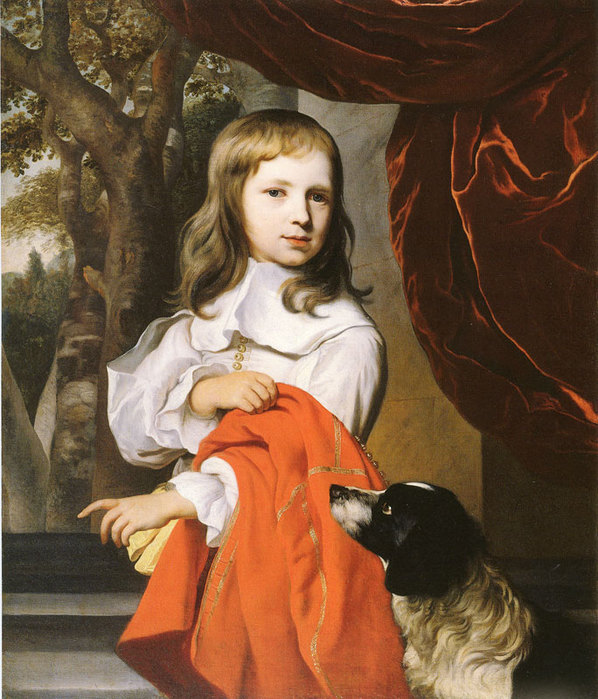 Boy with his dog  Musée Baron-Martin Gray (598x700, 120Kb)