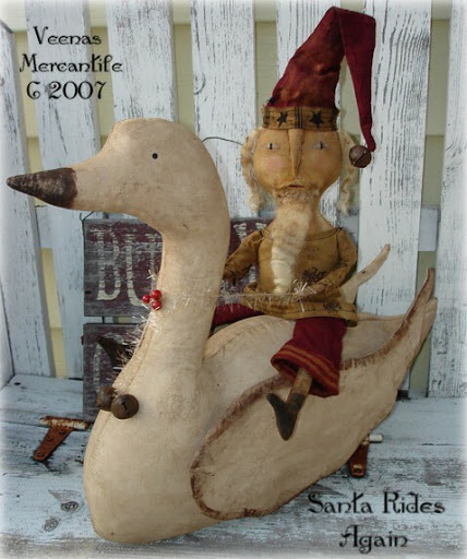 Veenas marcantile-Santa Rides Again (428x512, 71Kb)