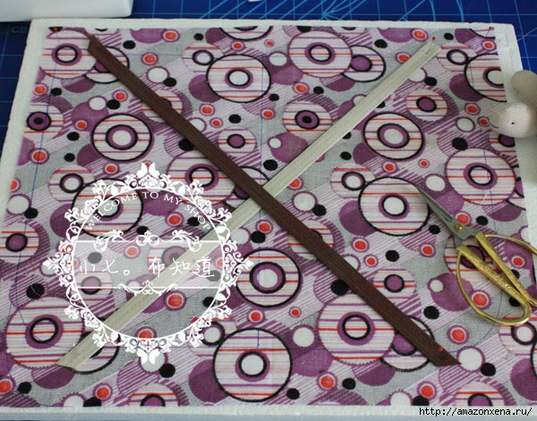 салфетка-плетенка из ткани (4) (600x471, 258Kb)