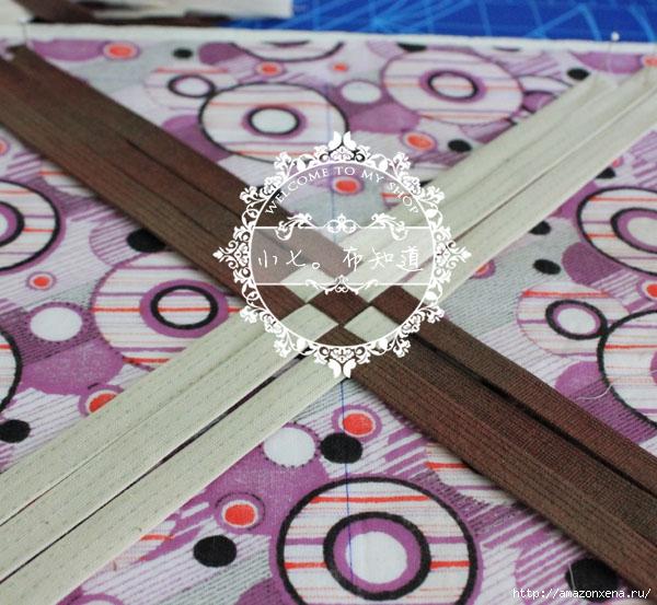 салфетка-плетенка из ткани (6) (600x553, 226Kb)