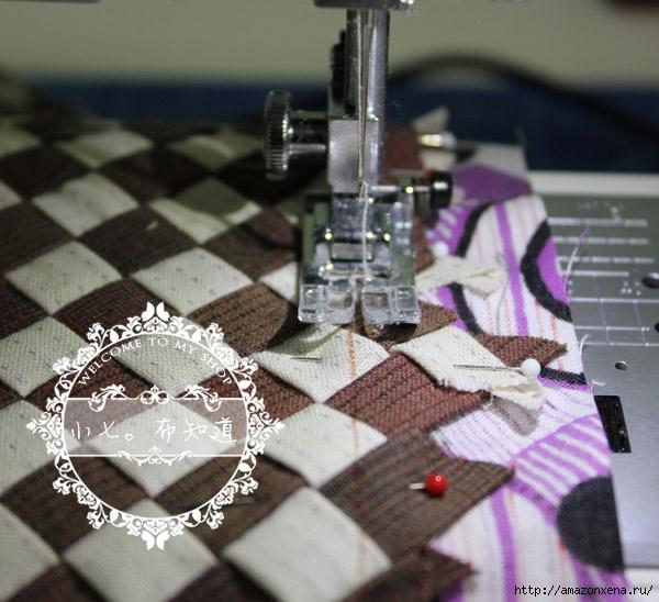 салфетка-плетенка из ткани (12) (600x548, 195Kb)