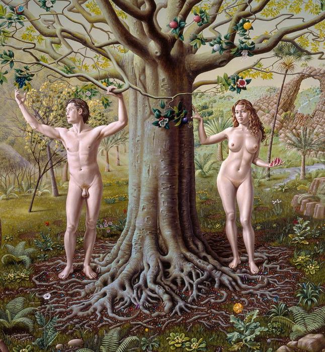 реалистические картины Miriam Escofet 8 (646x700, 549Kb)