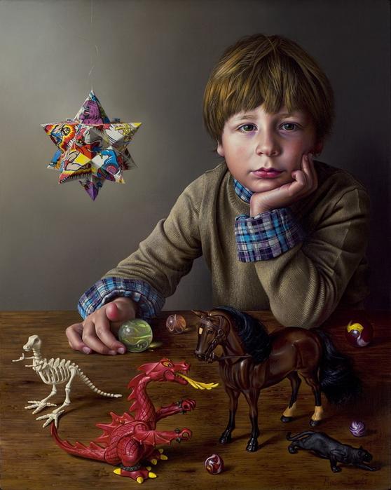 реалистические картины Miriam Escofet 10 (558x700, 321Kb)