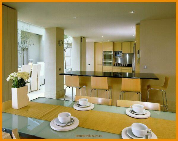 Кухни гостинные.