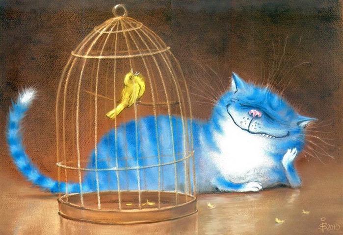 смешные коты картинки (700x480, 120Kb)