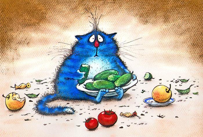 смешные коты картинки 4 (700x473, 190Kb)