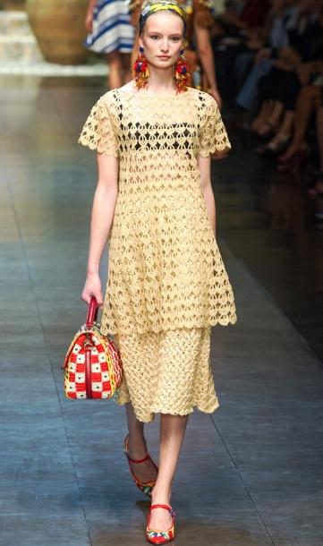 钩针教程:连衣裙的花样模式 - maomao - 我随心动