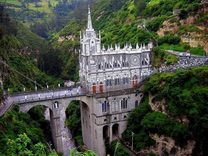 Кафедральный собор Лас-Лахас в Колумбии 22373