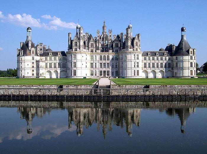 Шамборский замок во Франции