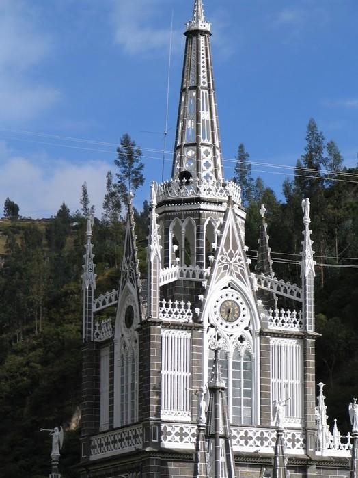Кафедральный собор Лас-Лахас в Колумбии 38783
