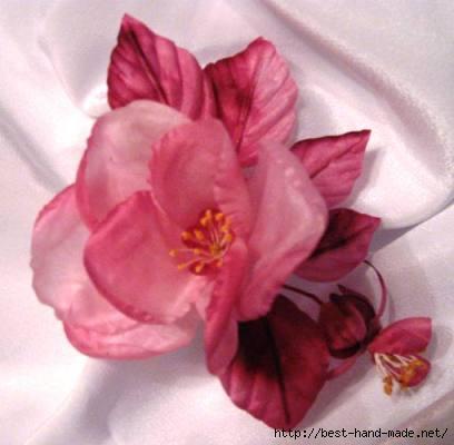 Декоративные цветы из ткани от Ольги Зайцевой. Разноцветье . Обсуждение на LiveInternet - Российский Сервис Онлайн-Дневников