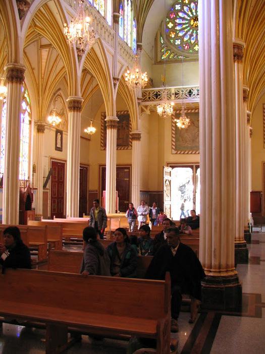 Кафедральный собор Лас-Лахас в Колумбии 24431