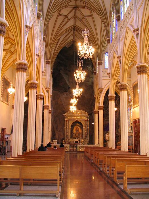 Кафедральный собор Лас-Лахас в Колумбии 90890