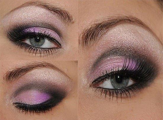 Схема весеннего макияжа «