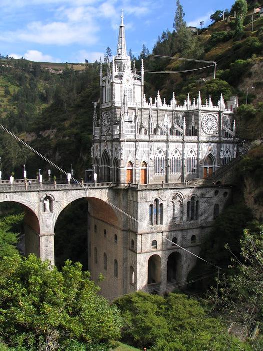 Кафедральный собор Лас-Лахас в Колумбии 32617