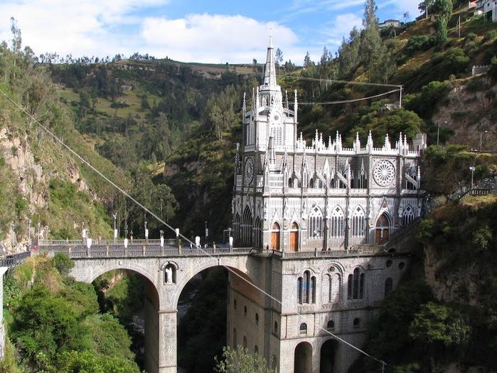 Кафедральный собор Лас-Лахас в Колумбии 67893