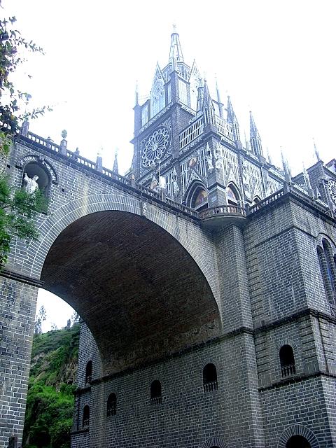 Кафедральный собор Лас-Лахас в Колумбии 32375