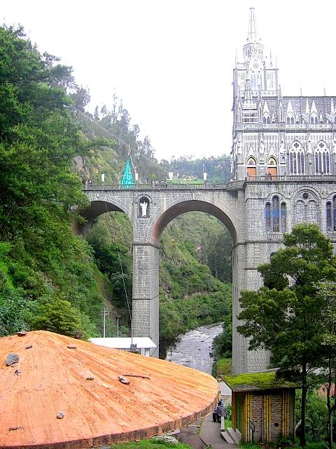 Кафедральный собор Лас-Лахас в Колумбии 10442