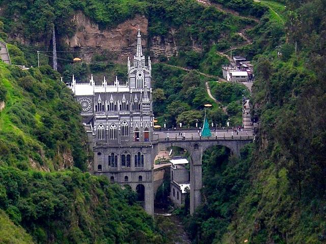 Кафедральный собор Лас-Лахас в Колумбии 78065
