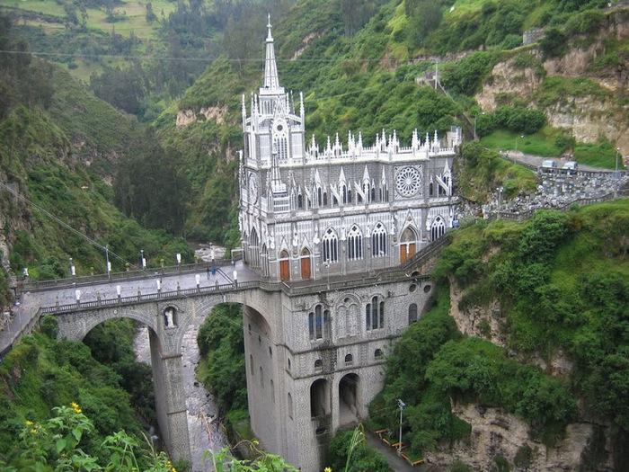 Кафедральный собор Лас-Лахас в Колумбии 90884