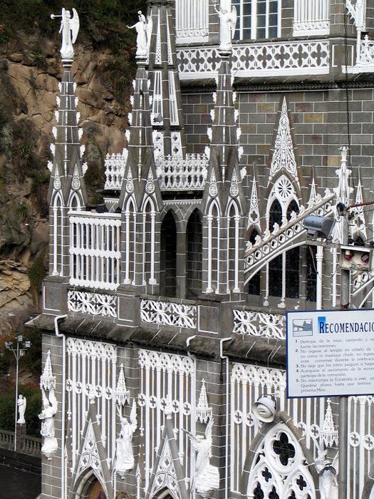 Кафедральный собор Лас-Лахас в Колумбии 10443