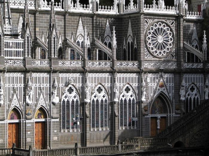 Кафедральный собор Лас-Лахас в Колумбии 25642