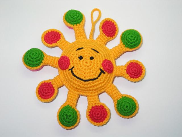 Солнышко – игрушка для малышей