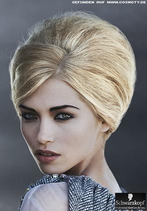Как сделать начес в стиле 60-х на короткие волосы