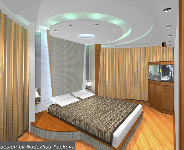 Появилась идея - а что если сделать в спальне подиум вместо кровати - будет большое спальное место, которое можно...