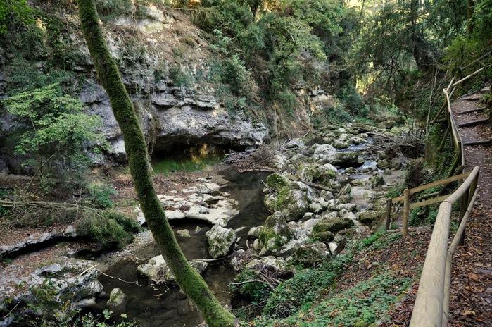 Водопад La Tine de Conflens, Швейцария 77619