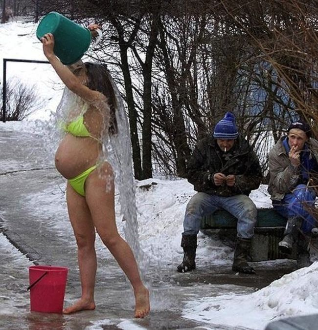Femme russe famille tout