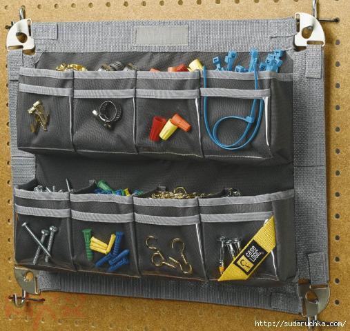 Как обустроить гараж своими руками - полками, стеллажами, с .