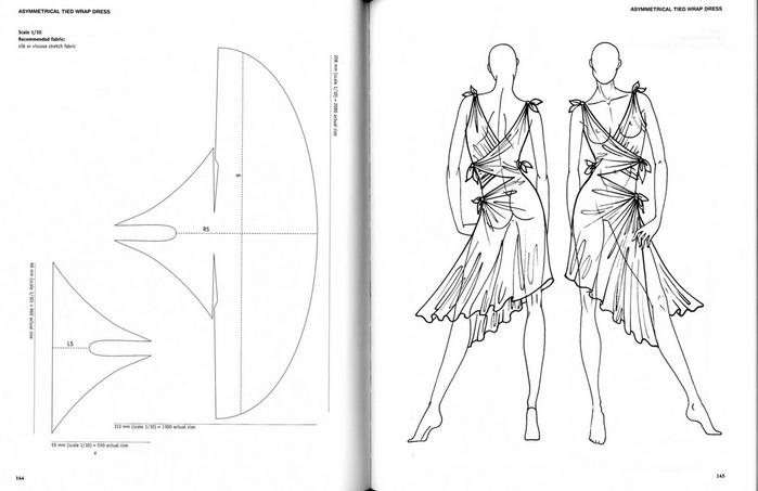 Простые выкройки пляжных платьев 3
